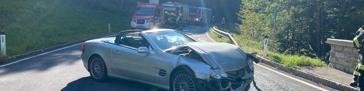 Verkehrsunfall am Pyhrnpass
