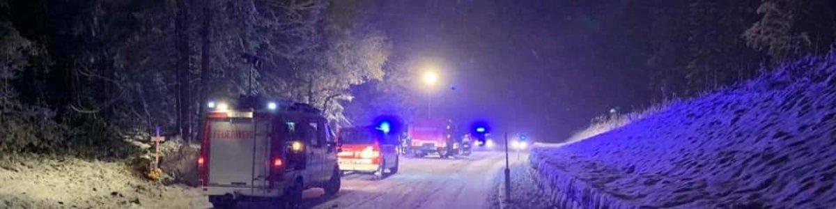 Erster Schnee = erster Verkehrsunfall