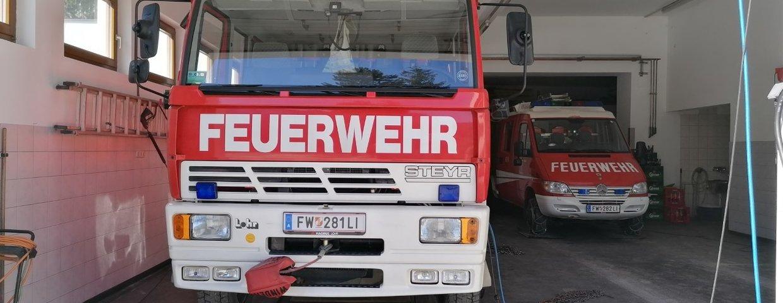 Brandverdacht bei Heustadl